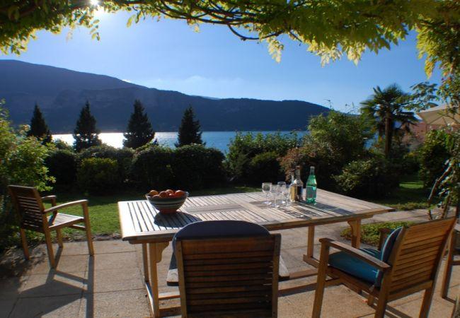 à Talloires - Talloires - Bucolique cottage rénové jolie Vue lac